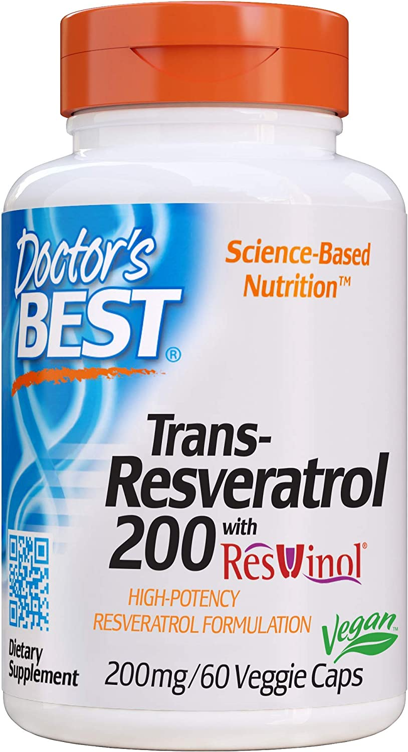 Doctor's Best, Trans-Resveratrol with Re…