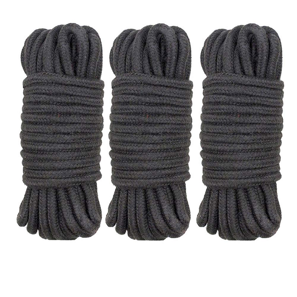 Bundle cotton rope men and women with bondage training alternative torture tool self-binding sex rope art twine 3pcs by QF sexy leather store