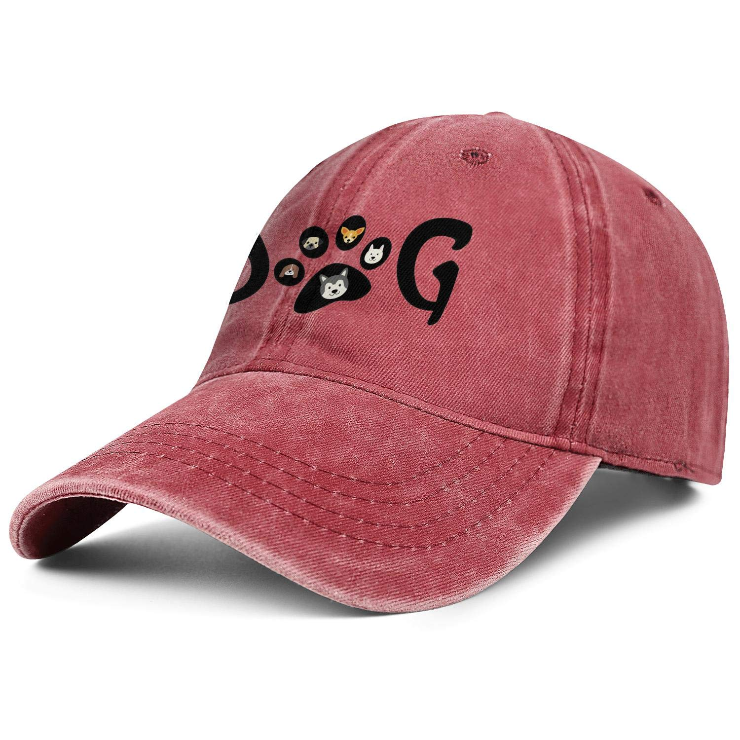 Cute Dog The Humans Friend Unisex Baseball Cap Cooling Sport Hats Adjustable Trucker Caps Dad-Hat
