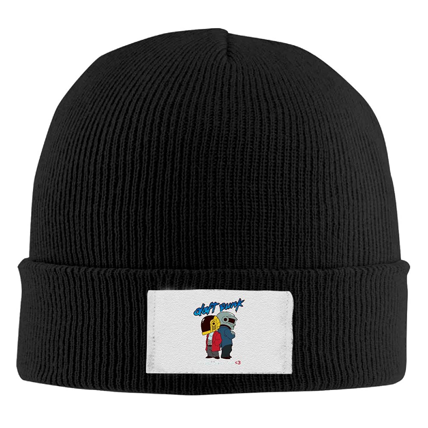 YFLLAY Daft Punk Band Logo Knit Cap Woolen Hat For Unisex
