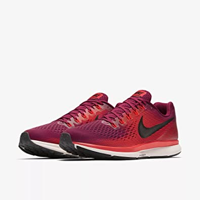 new arrival dbfc0 e2045 coupon for nike air zoom pegasus 34 880555 603 rush maroon black mens  running shoes 10