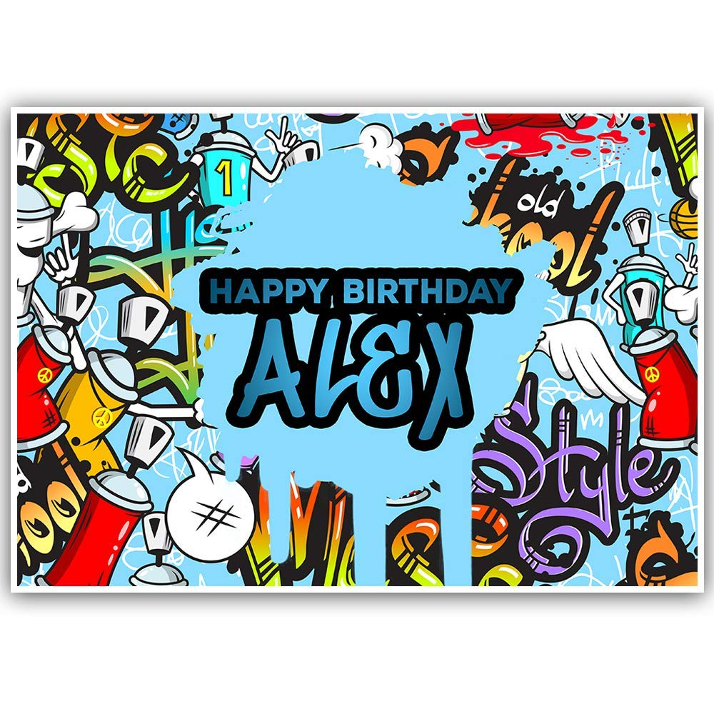 Hip Hop Birthday Personalized Banner