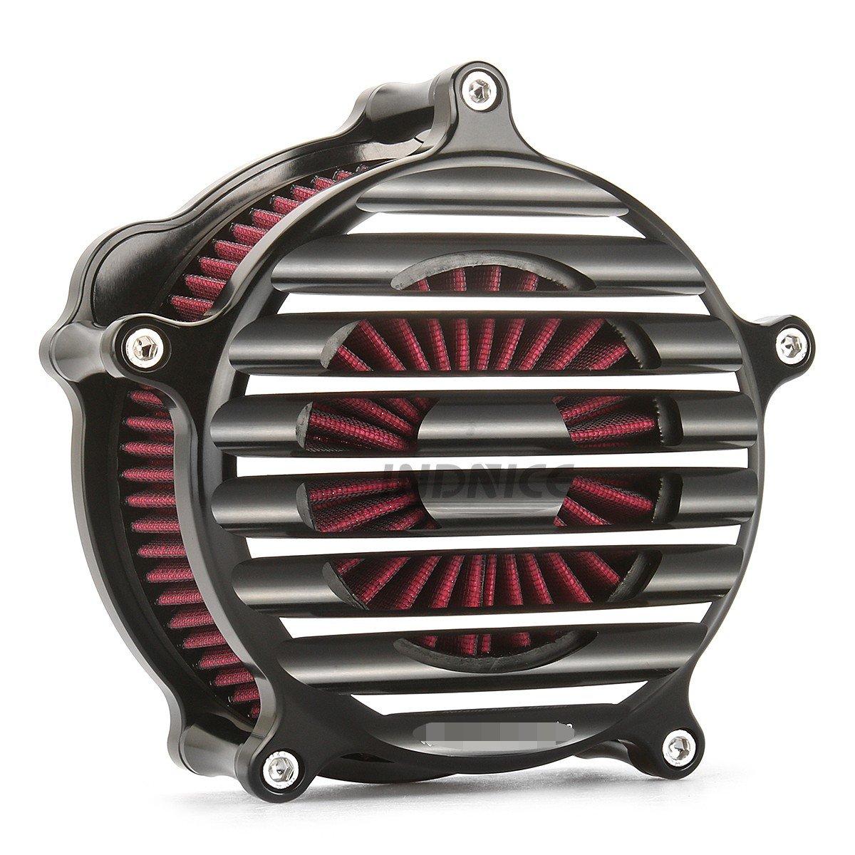 CNC edge cut RSD Nostalgia Venturi Air intake system for harley sportster xl883 1200 air filters sportster 883 1991-2018   B07DD8ZKJC