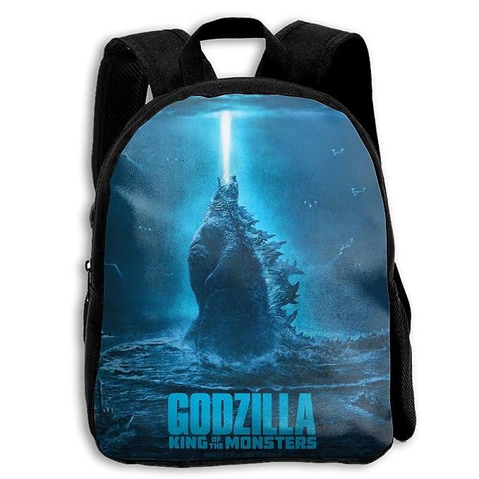 Sheridan Reynolds Godzilla King Of The Monsters Kid Backpack Boys' Girls' School Bookbag For Children by Sheridan Reynolds