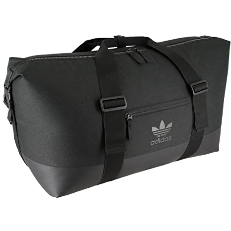 4353830b84a adidas Unisex Originals Weekender Duffel Bag, Black/Black, One Size:  Amazon.in: Bags, Wallets & Luggage