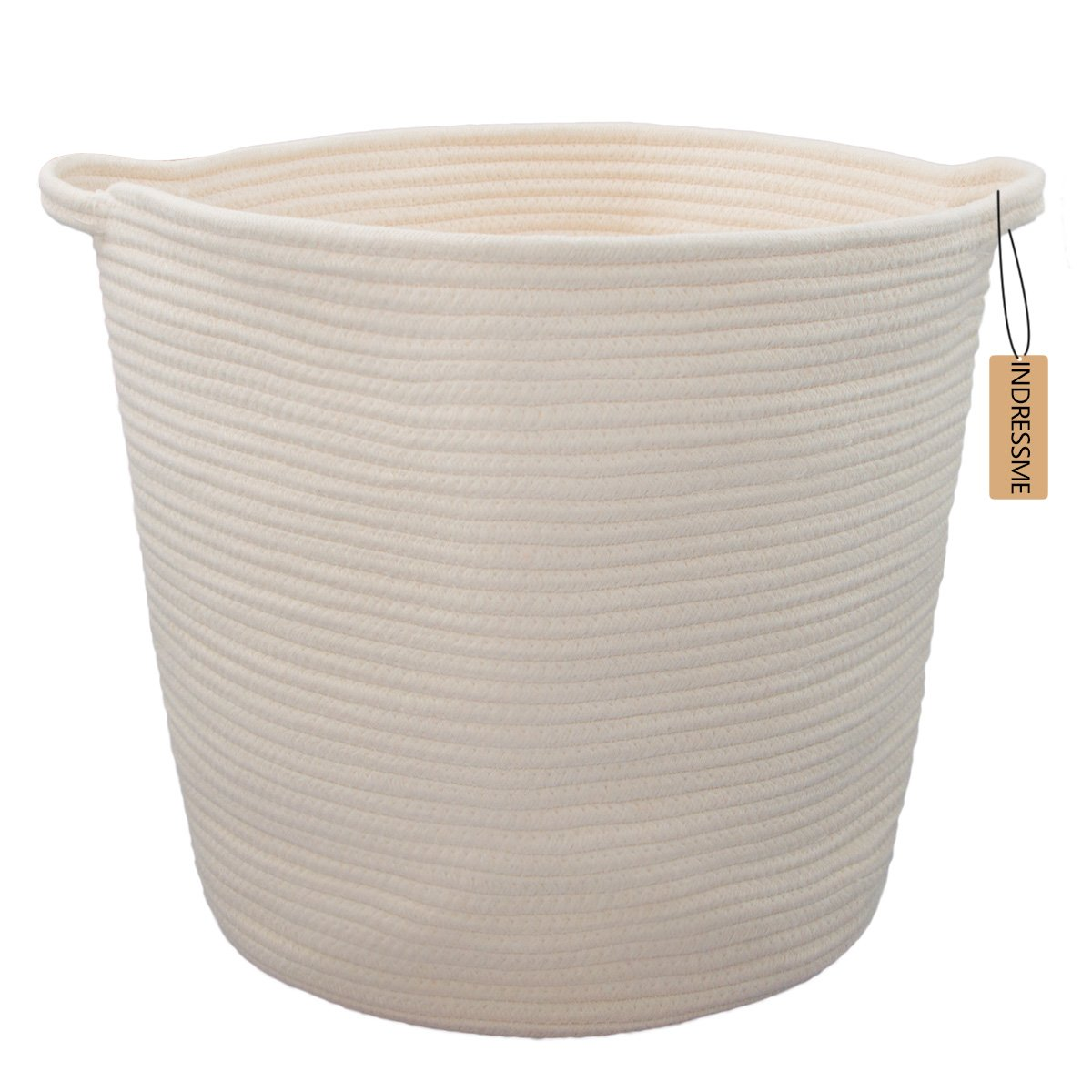 Amazon.com : Orino Cotton Rope Storage Baskets With
