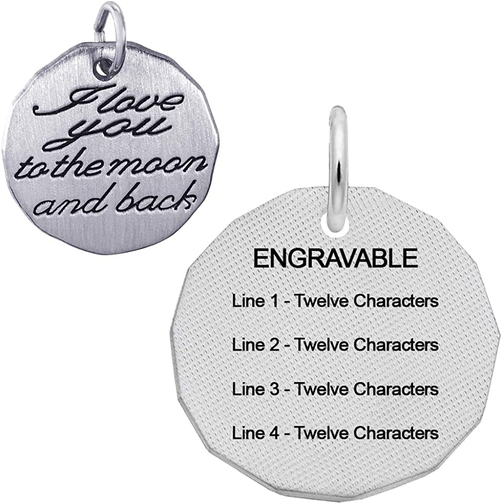 Engravable The Best is Yet to Be Rembrandt Charms