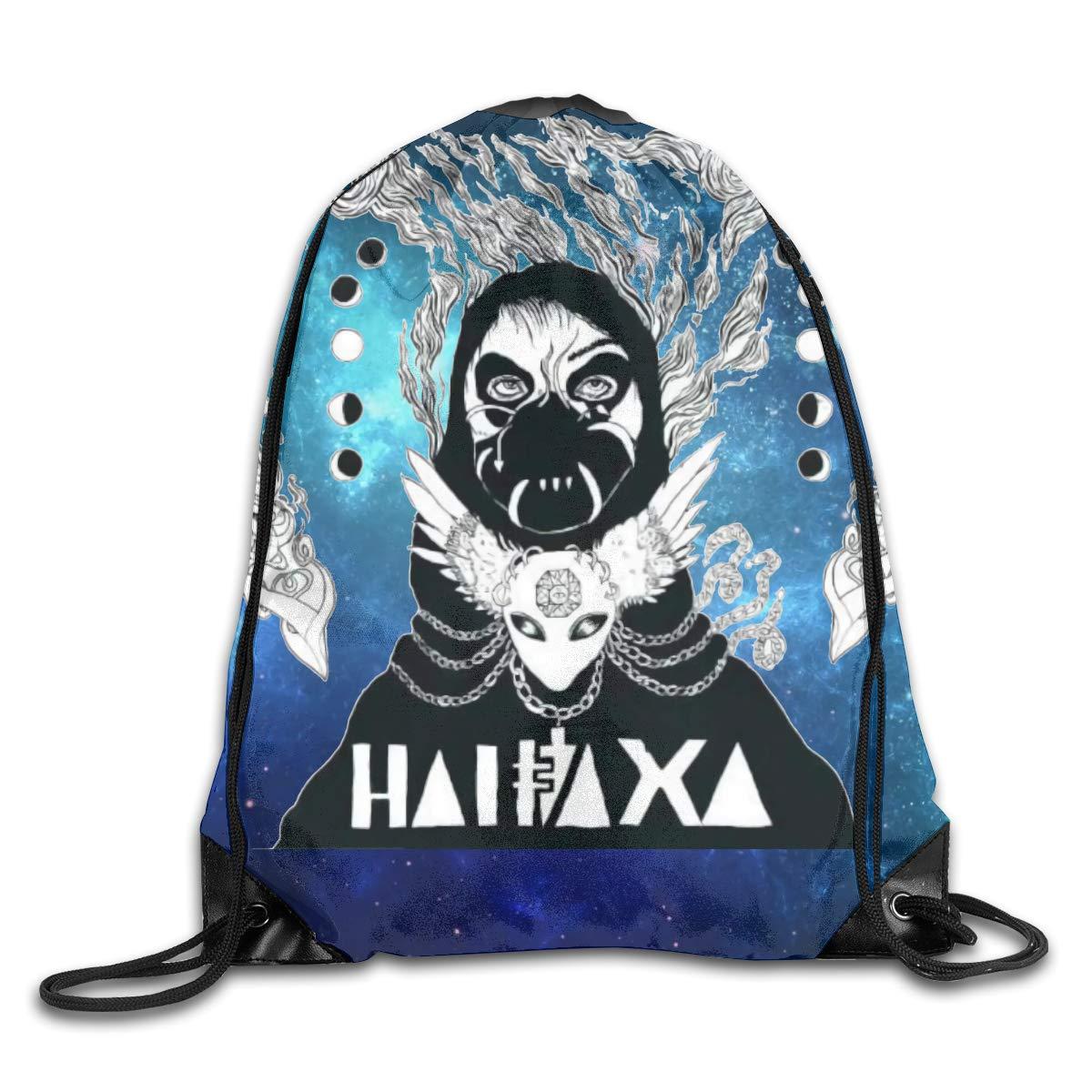 CAOI UUC Grimes Gym Drawstring Backpack String Bag
