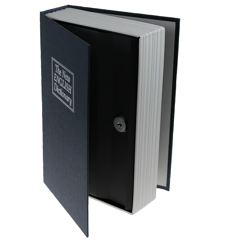 Buch Geldkassette Buchtresor Geheimfach von JEMIDI Tresor Gelddose Geld Kassette Bü chersafe Geldkassette Buchattrappe