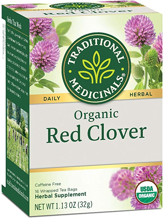 Traditional Medicinals Organic Red Clover Herbal Tea