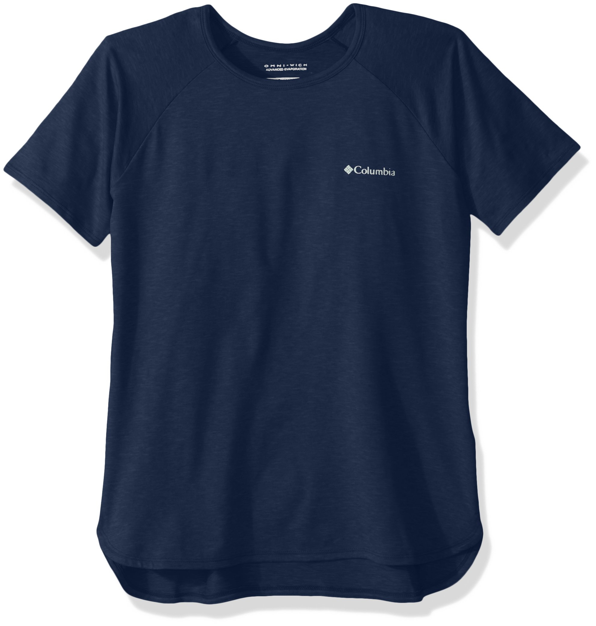Columbia Girls Silver Ridge Ii Short Sleeve Tee, Carbon Heather, XX-Small by Columbia