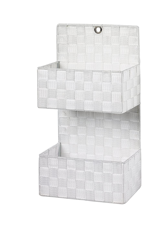 Wandorganizer Ablagekorb Wandkorb Nylon mit 2 Fächern auf ...