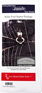 Westalee Design/Sew Steady Ruler Foot Starter Package Low Shank