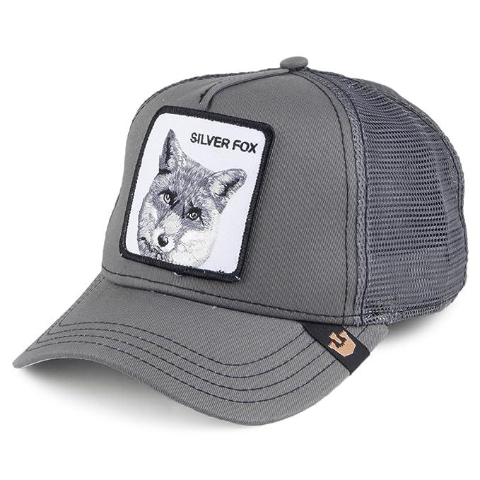 Gorra Trucker Silver Fox de Goorin Bros. - Gris - Ajustable  Amazon.es   Ropa y accesorios 94b7f634b3b