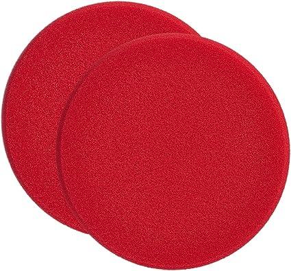 Sonax 2x 04931000 Polierschwamm Rot 160 Hart Schleifpad 1 Stück Auto