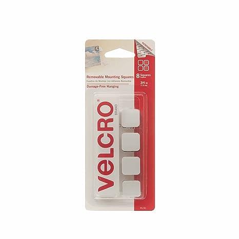 Amazon.com: Velcro Marca – extraíble cuadrados de montaje ...