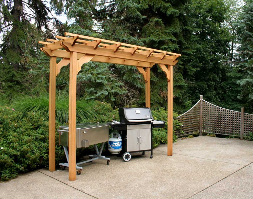 - Amazon.com: Cedar New Dawn Pergola 4Ft X 10Ft: Garden & Outdoor