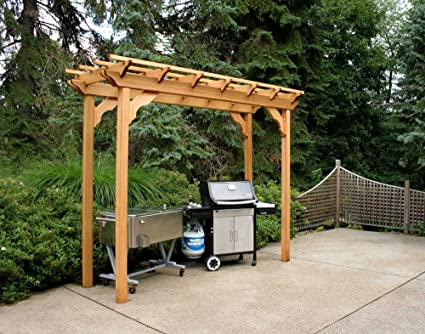 Creekvine Designs New Dawn Cedar Pergola - Amazon.com: Creekvine Designs New Dawn Cedar Pergola: Garden & Outdoor