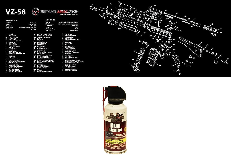 Ultimate Arms Gear SA VZ58 VZ-58 Rifle Schematics Gunsmith