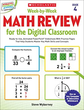 Week-by-Week Math Review for the Digital Classroom: Grade 2: Ready ...