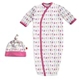 Magnificent Baby Baby Magnetic Modal 2 Piece Gown