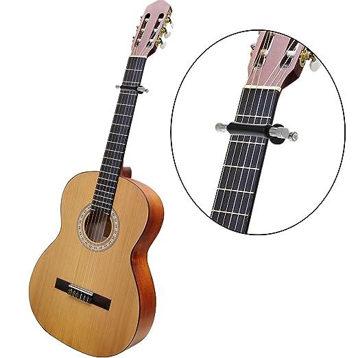 Cejilla de Guitarra Glider Portátil Slide de Guitarra Setup Rápido para Guitarra 6 Cuerdas Acústica y Eléctrica, Ukulele (Negro): Amazon.es: Instrumentos ...