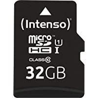 Intenso Micro SDHC 32GB Class 10 geheugenkaart incl. SD-adapter (UHS-I)