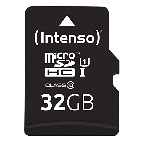 Intenso 3423480 - Tarjeta Memoria Micro SD de 32 GB, Color ...