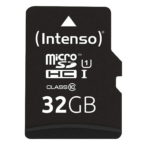 Intenso 3423480 - Tarjeta Memoria Micro SD de 32 GB, Color ...