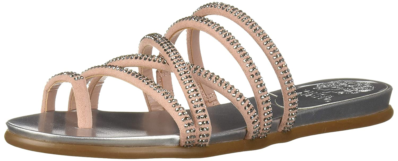 Precious01 Vince Camuto Womens Ezzina Flat Sandal