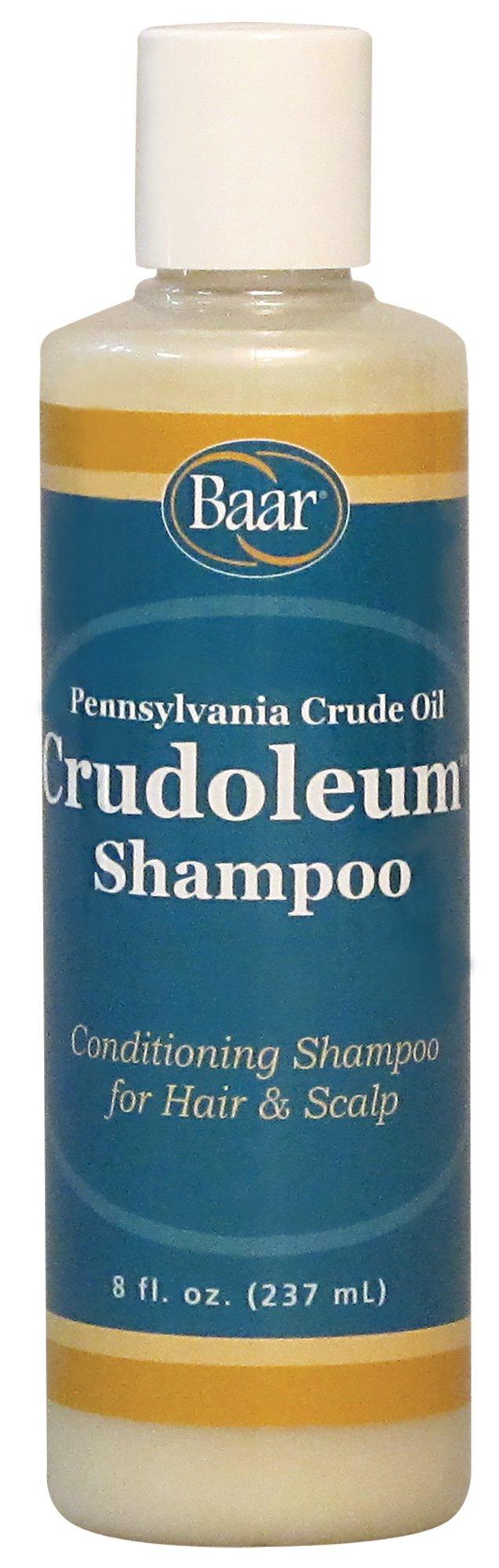 Crudoleum Shampoo, 3-in-1 Pennsylvania Crude Oil Shampoo, 8 Oz. by Baar