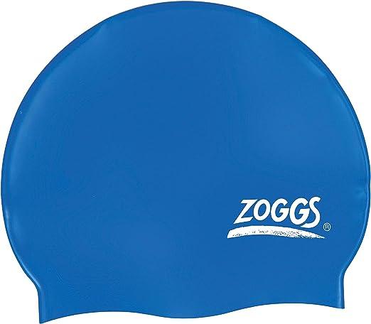 Zoggs Badehaube Cap Standard - Gorro de natación, Color Azul, Talla L: Amazon.es: Deportes y aire libre