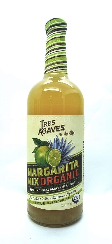 Tres Agaves Organic Margarita Mix 1L (Pack of 2) 714QksbVraL