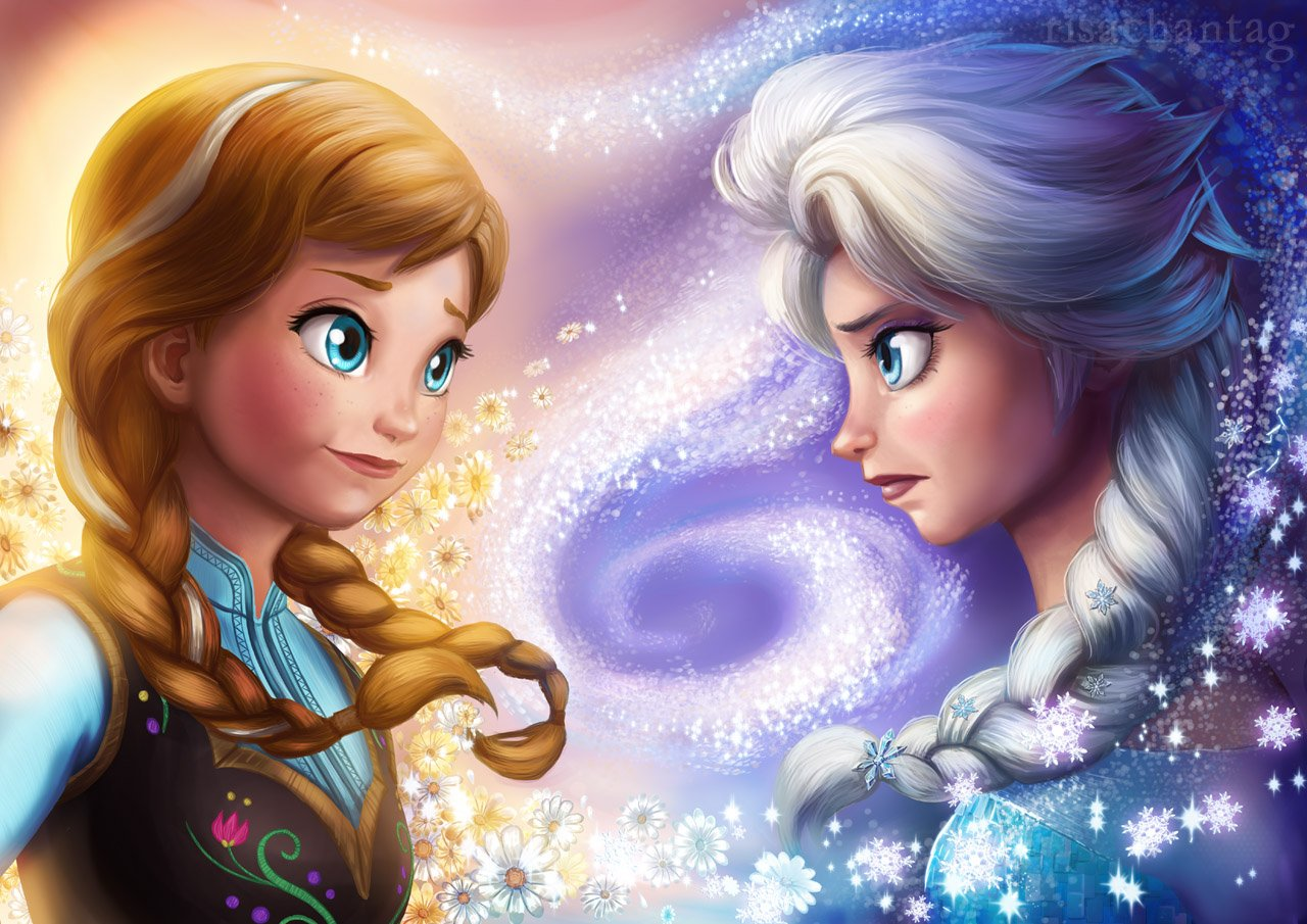 Posterhouzz Movie Frozen Princess Anna Arendelle Elsa Snow Hd