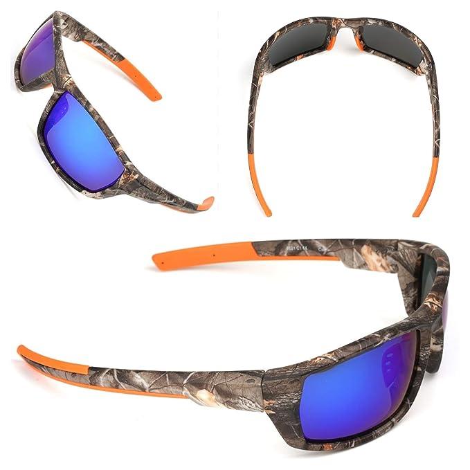 Amazon.com: Gafas de sol polarizadas deportivas de camuflaje ...