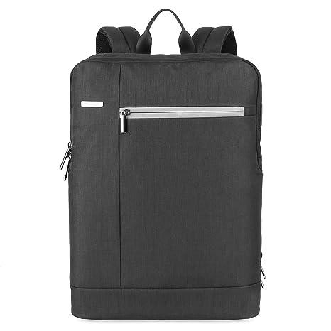 83f4000ecc653 PRASACCO Laptop Rucksack 17 Zoll Backpack für 15.6 Zoll Notebookrucksack  mit Fächern Herren Business Rucksack Daypacks