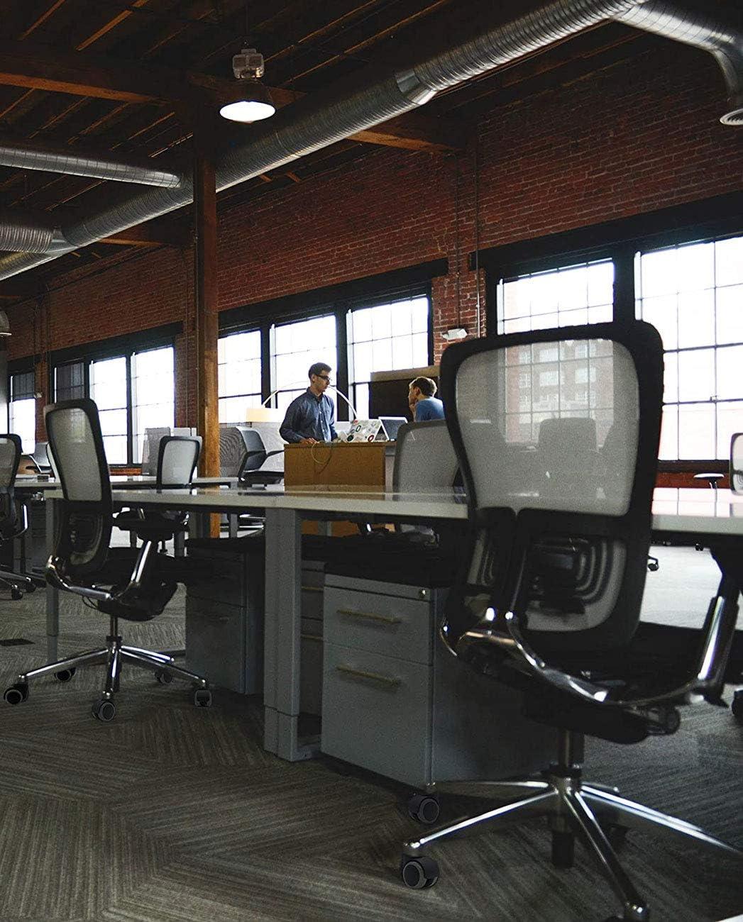 Laminato Piastrelle YUEMING 5 x Rotelle per Sedia da Ufficio,Universale Standard 11mm x 22mm Bianca Rotelline Ricambio sedie girevoli Senza Freno,per Pavimenti Duri Parquet