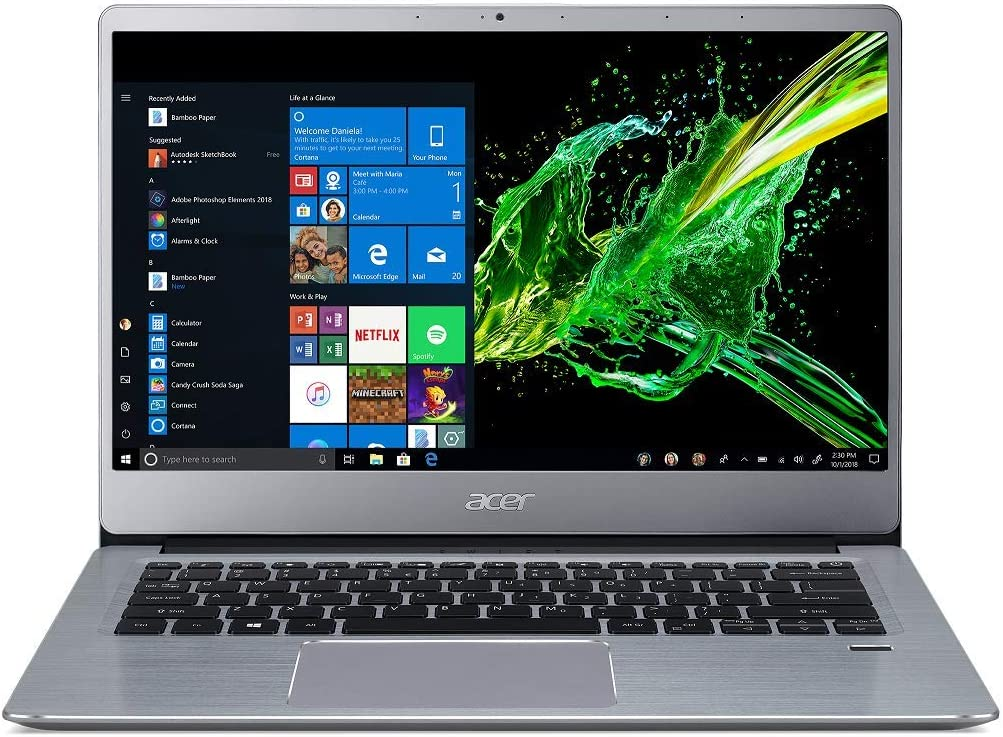 Acer Swift 3 Athlon SF314-41 14-inch Thin and Light Notebook
