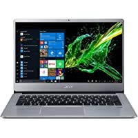 Acer Swift 3 SF314-41 14-inch FHD Thin and Light Notebook (Athlon 300U Dual Core/4GB/1TB HDD/Windows 10 Home (64 bit)/Radeon Vega 3 Graphics), Sparkly Silver