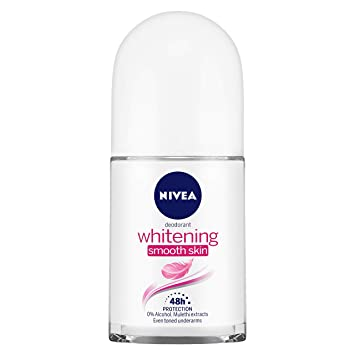 Buy NIVEA Deodorant Roll-on, Whitening Smooth Skin, 50ml Online at