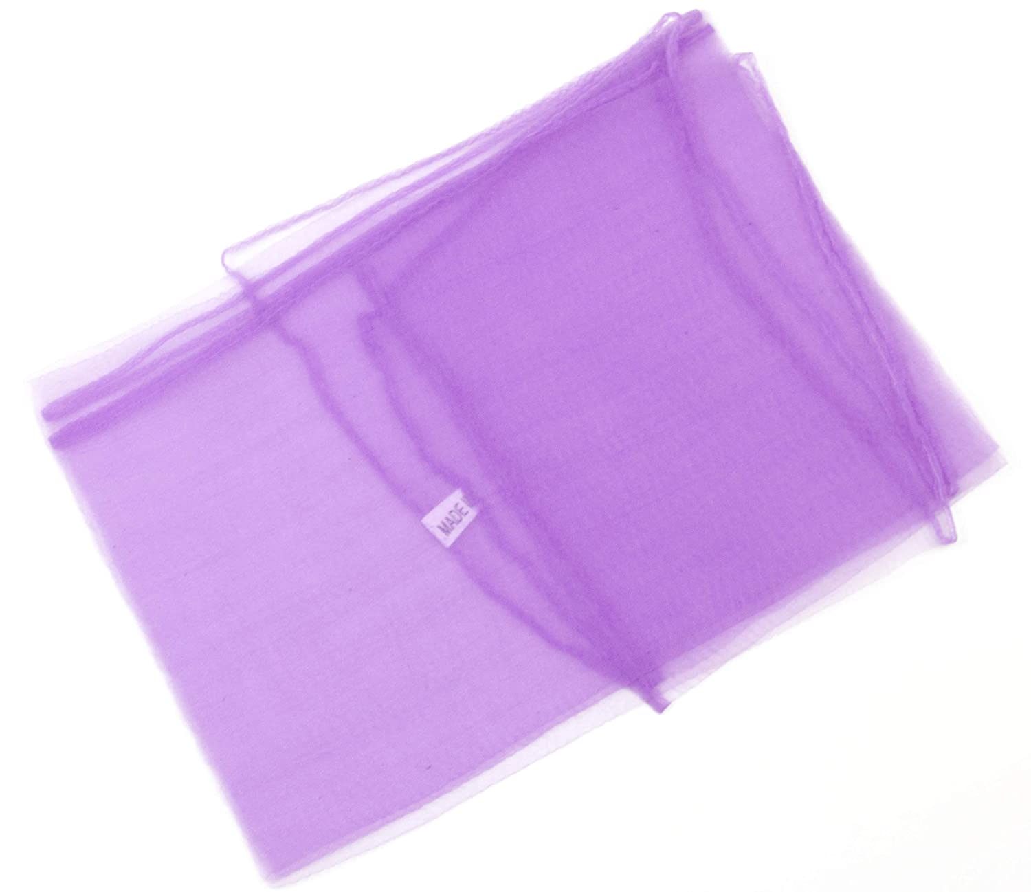 Mytoptrendz/® Ladies Girls Plain Chiffon Fashion Scarf Square Sheer Neck Head Scarf Lilac