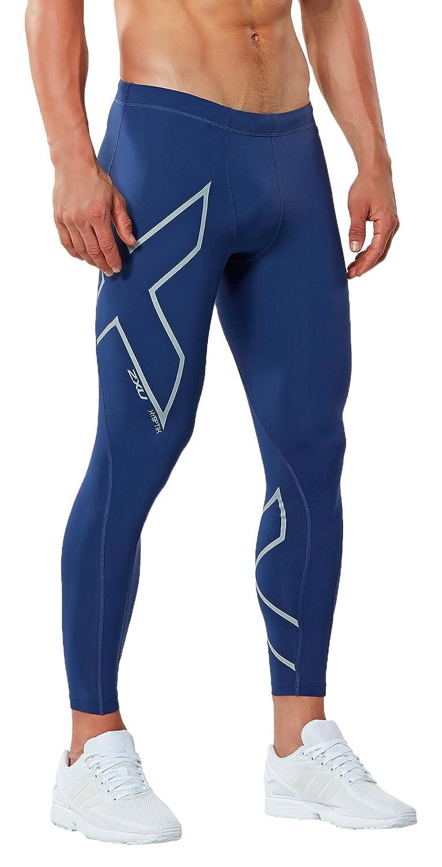 10a8bb5d10918 2XU Men's Hyoptik Thermal Compression Tights, Navy/Silver Reflective,  X-Large, Pants - Amazon Canada