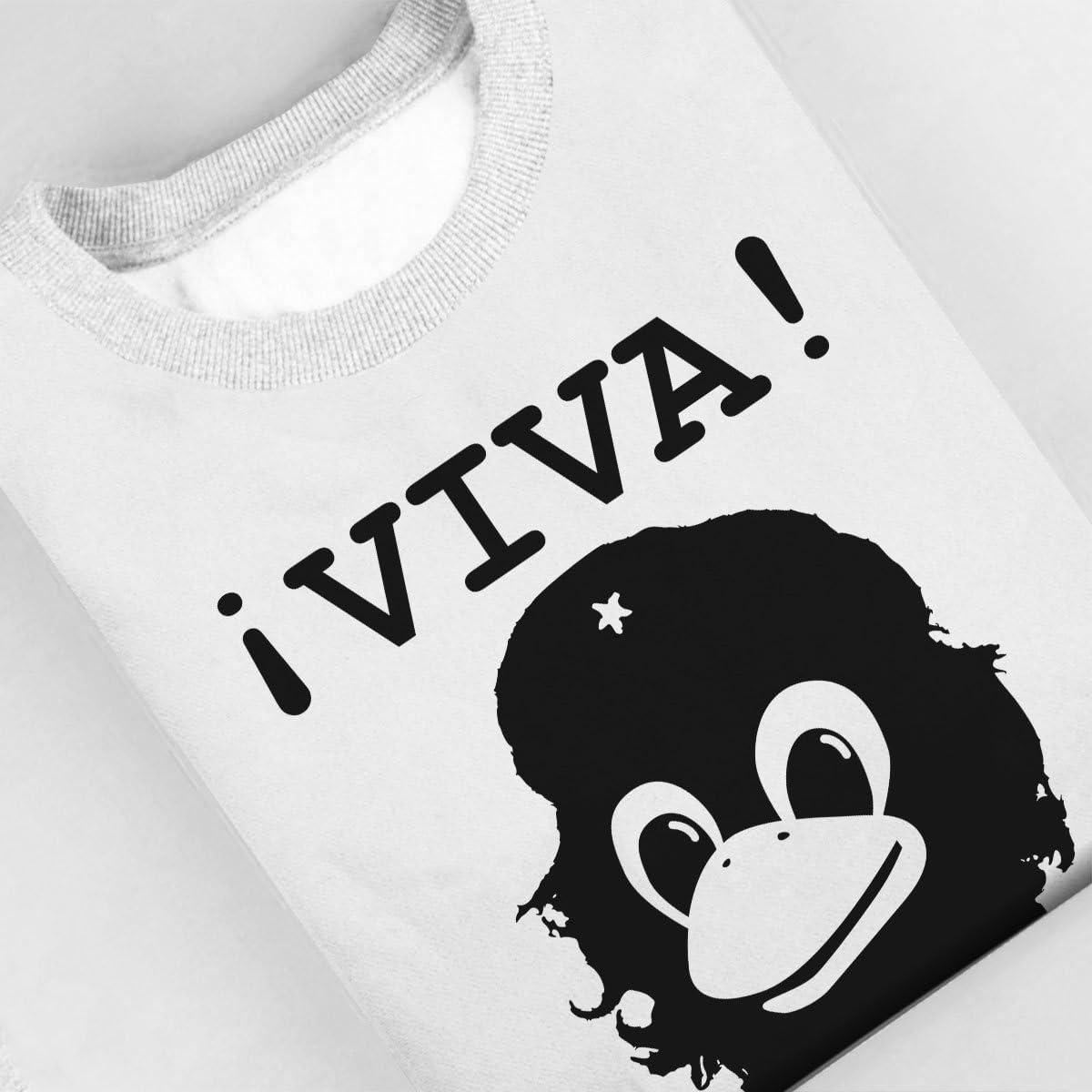 Viva Programming Tux Linux Che Guevara Womens Sweatshirt
