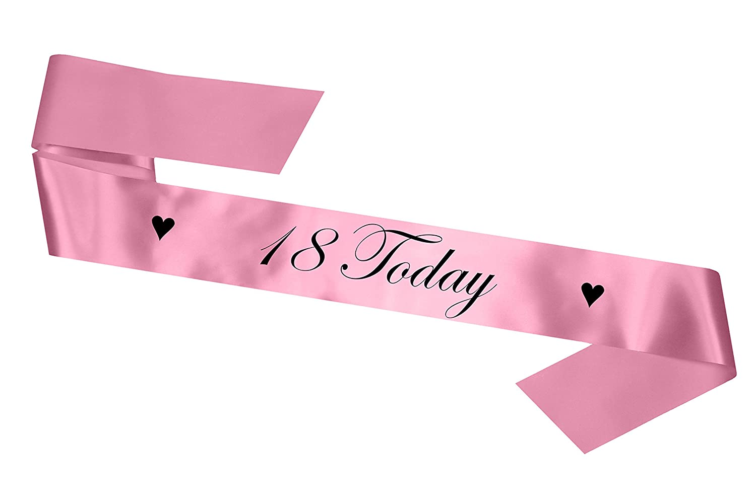 Baby Pink 18 Today Birthday Sash My Pretty Little Gifts