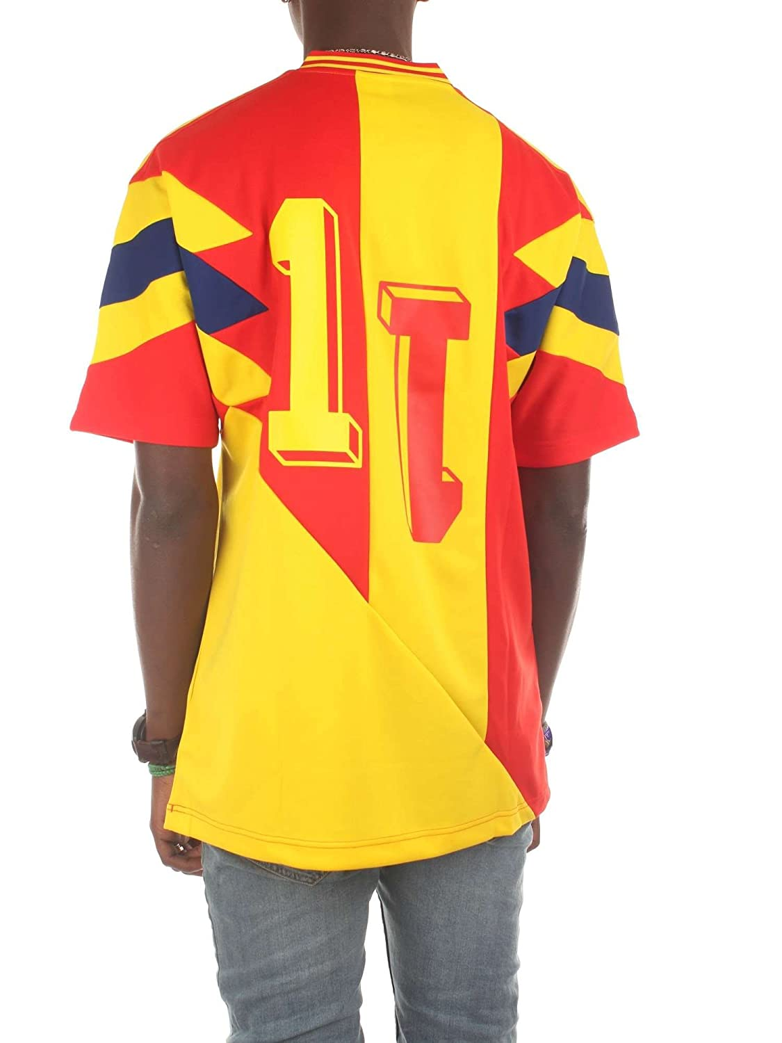 e1ecf5a1f Adidas T-Shirt Colombia Mashup Yellow red Blue Size  L (Large)   Amazon.com.au  Fashion