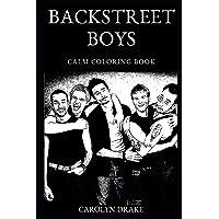 Backstreet Boys Calm Coloring Book