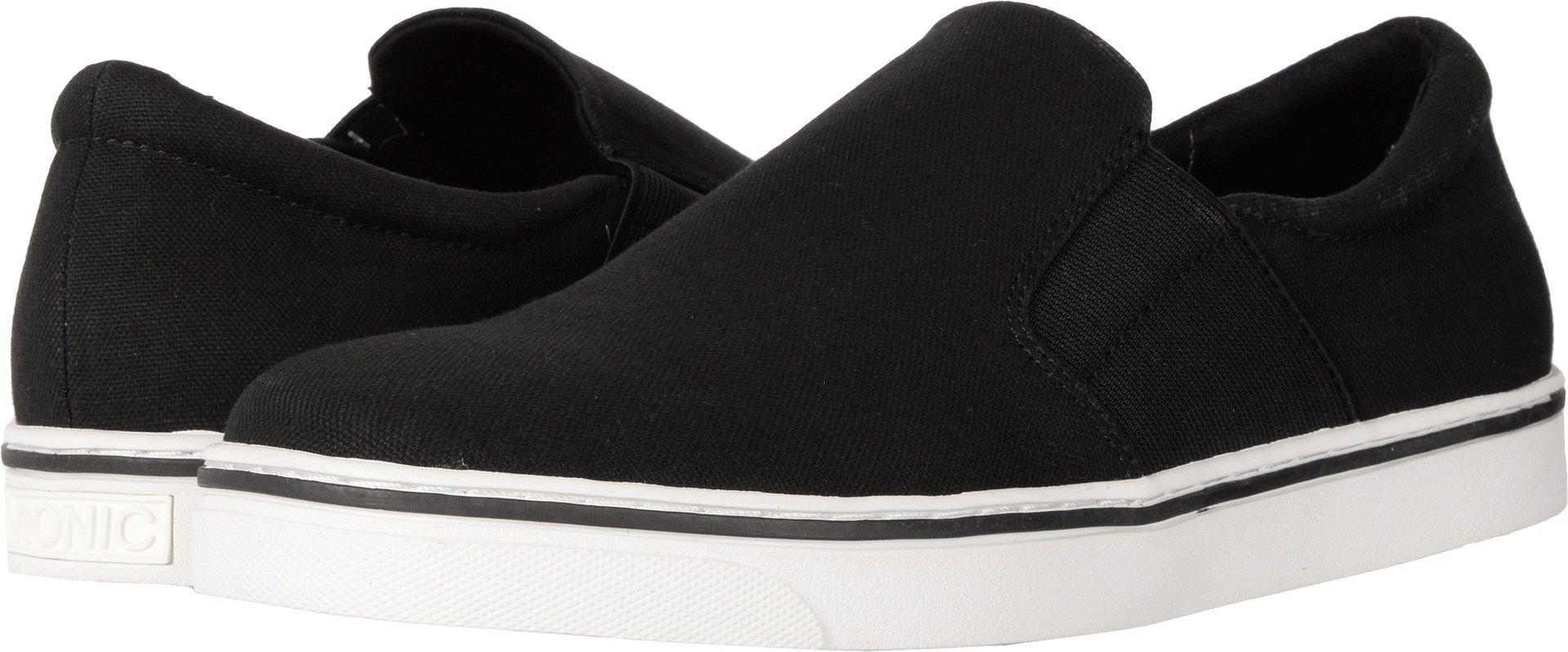 Vionic Men's Maddox Black Canvas Loafer