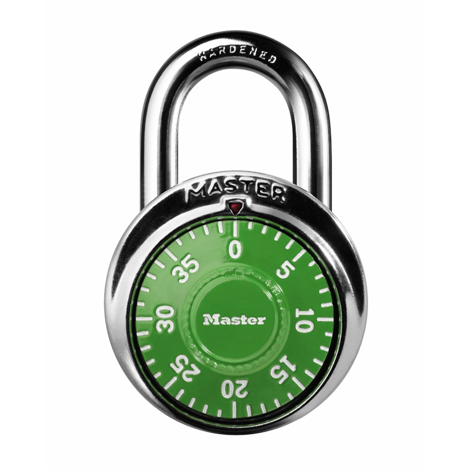 Master Lock 1505D Dial Combination Padlock 1 7 8 in. Wide with 3 4 in. Long Shackle Assorted