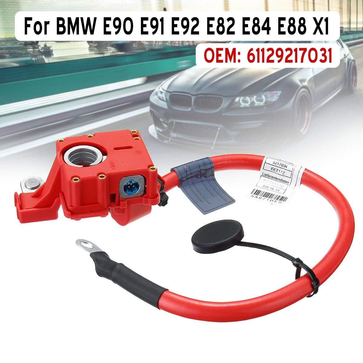Car Battery Protector Wire Cable Line 61129217031 Positive Terminal to Battery Cable for BMW E90 E91 E92 E82 E84 E88 X1 by LA THI PHUONG