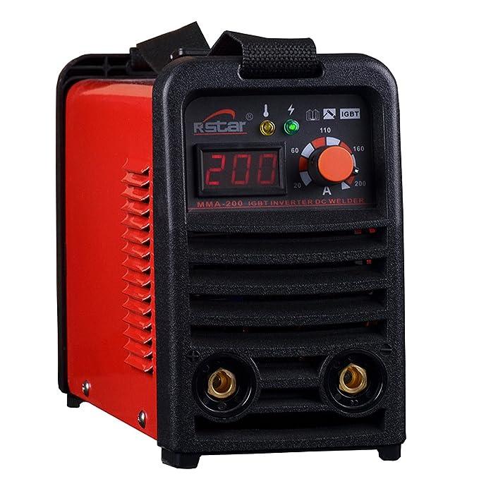 Rstar Portable IGBT Inverter 110v/220v Dual voltage mma200 stick ...